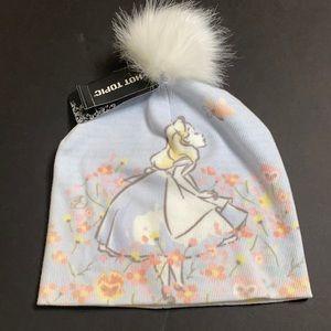 Disney Alice in Wonderland Beanie Toboggan Puff
